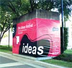 Ideas Festival Banner printed by Digital Ink