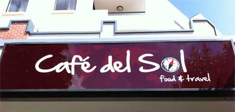 Cafe Del Sol - Signage by Digital Ink