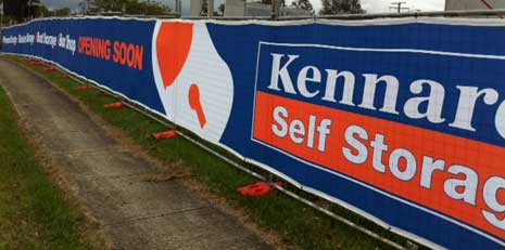 Kennards Mesh Signage - Printed and Installed by Digital Ink